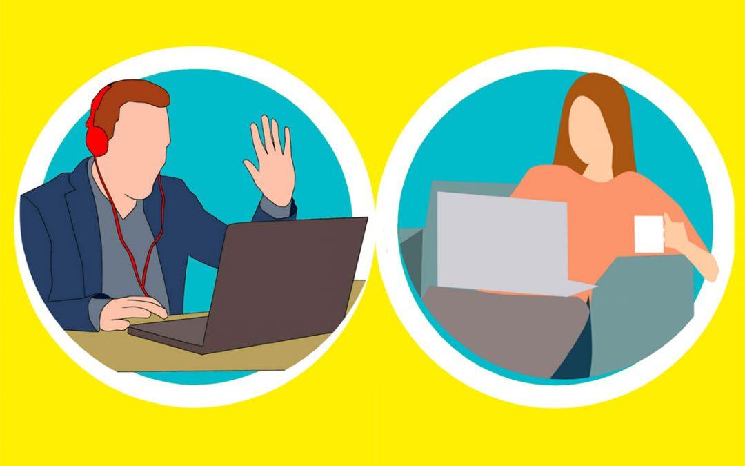 Vorstellungsgespräch via Skype
